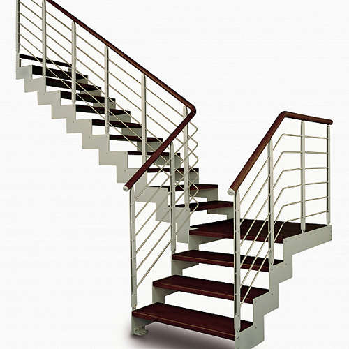 Лестницы металлические или на металлокаркасе в дом офис от 'НИКОЛЬ' металлоизделия и металлообработка в Витебске