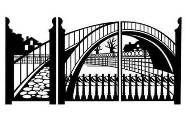 Металлические ворота, калитки, гаражные ворота 'НИКОЛЬ' металлоизделия, металлообработка в Витебске